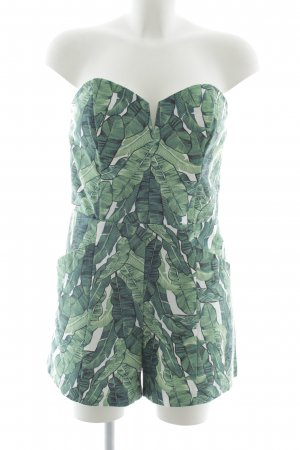 H&M Conscious Collection Jumpsuit Allover-Druck extravaganter Stil