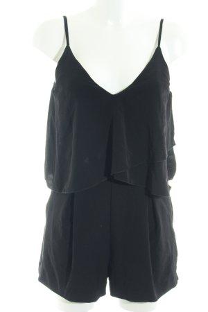 H&M Conscious Collection Jumpsuit schwarz Elegant