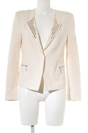 H&M Conscious Collection Kurz-Blazer creme Elegant