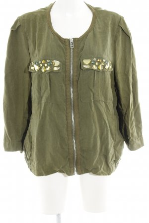 H&M Conscious Collection Kurzjacke khaki Casual-Look