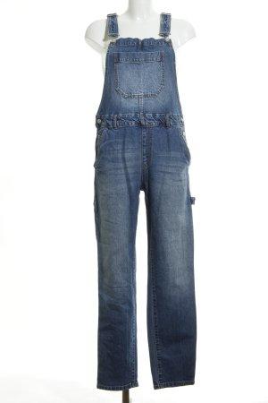 H&M Conscious Collection Jeans met bovenstuk donkerblauw kleurverloop