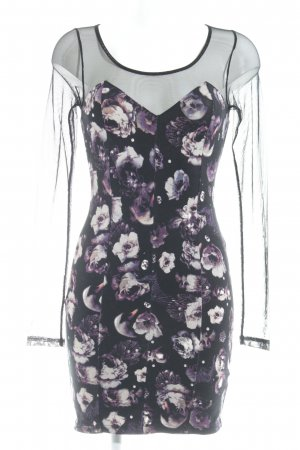 H&M Conscious Collection Minikleid florales Muster Party-Look