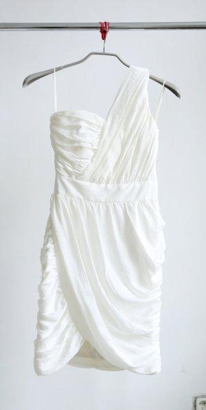 H&M Conscious Collection One Shoulder Kleid