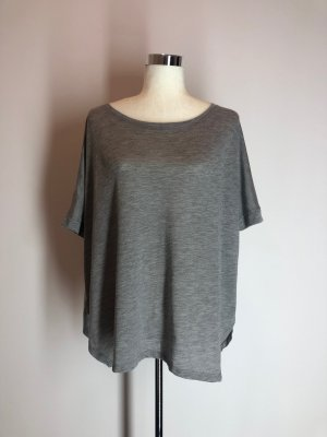 H&M Conscious Collection Camisa holgada gris Poliéster