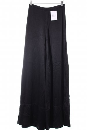 H&M Conscious Collection Pallazzohose schwarz Street-Fashion-Look