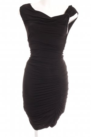 H&M Conscious Collection Schlauchkleid schwarz Elegant