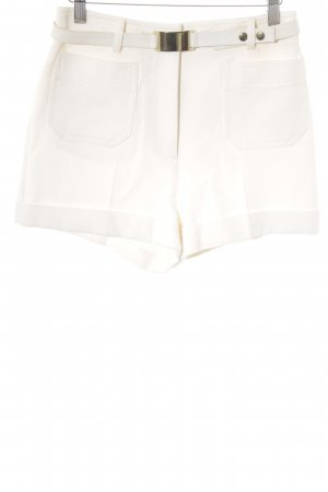 H&M Conscious Collection Shorts creme-goldfarben Casual-Look