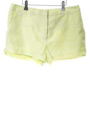 H&M Conscious Collection Shorts grün Allover-Druck Casual-Look