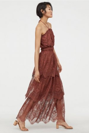 H&M Conscious Collection Spitzenrock