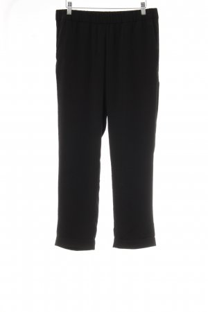 H&M Conscious Collection Stoffhose schwarz Casual-Look
