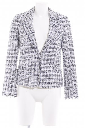 H&M Conscious Collection Strickblazer Karomuster Business-Look