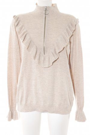 H&M Conscious Collection Strickpullover altrosa meliert Casual-Look