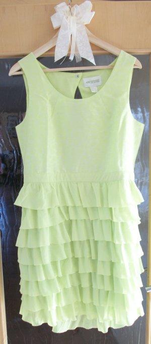 H&M Conscious Collection Trend neon grün gelb