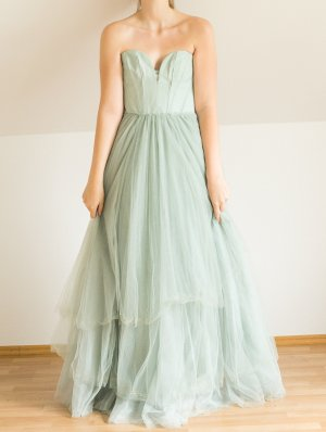 H&M Conscious Collection Tüll Kleid mint Abendkleid Ballkleid Prinzessin