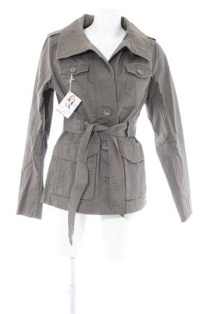 H&M Conscious Collection Übergangsjacke braun Casual-Look