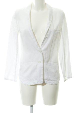 H&M Conscious Collection Unisex-Blazer weiß Elegant
