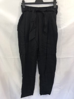 H&M Conscious Collection Pantalone culotte nero Lyocell