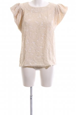 H&M Conscious Exclusive Kurzarm-Bluse nude Business-Look