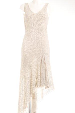 H&M Conscious Exclusive Trägerkleid hellbeige-silberfarben Elegant