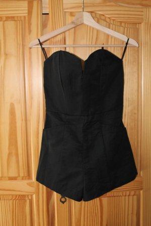 H& M Conscious, Jumpsuit/ Overall in schwarz ohne Träger, Gr. 34, NEU