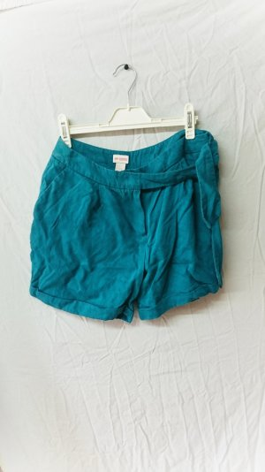 H&M Consicious Collection Shorts Gr.38 Petrol Sommer Festival Boho