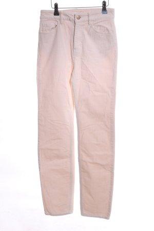 H&M Pantalón de pana rosa look casual