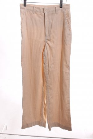 H&M Corduroy Trousers cream simple style