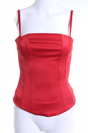 H&M Corsage topje rood elegant