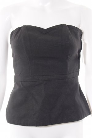 H&M Corsage Top black gothic look