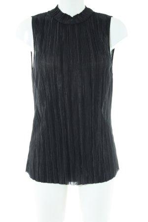 H&M Blusa estilo Crash negro look casual