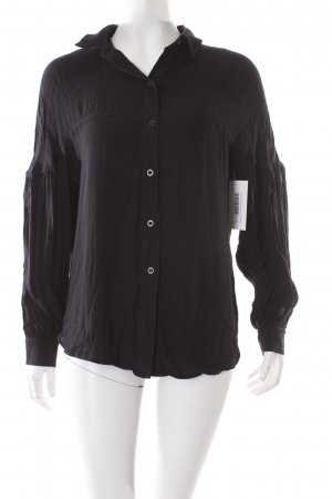 H&M Blouse en crash noir style simple