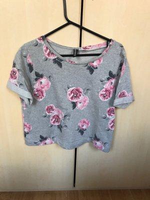 H&M crop Bluse, Gr.S/M