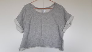 H&M Suéter gris claro-gris Algodón