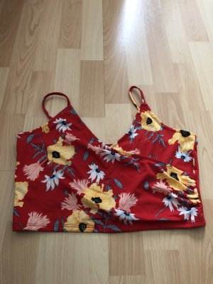 H&M Cropped top rood