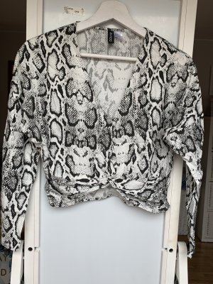 H&M Crop Top snake Print Gr. 38