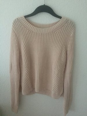 H&M cropped Pullover Rosa