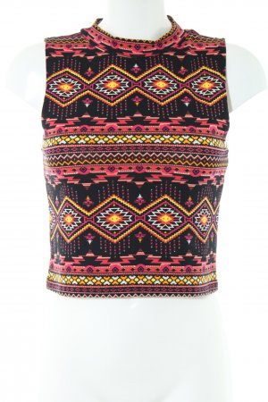 H&M Cropped Top allover print casual look