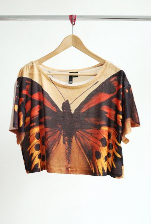H&M Cropped Top- Butterfly