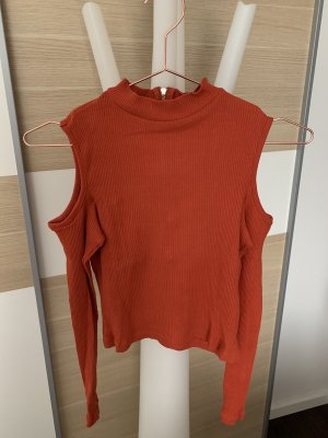 H&M cropped top mit Schulter Cut-Outs