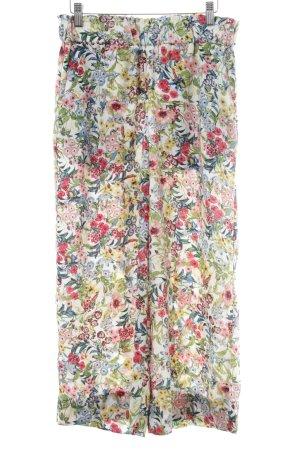 H&M Pantalone culotte motivo floreale stile casual