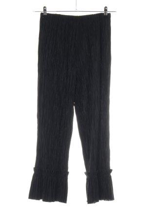 H&M Culottes schwarz extravaganter Stil