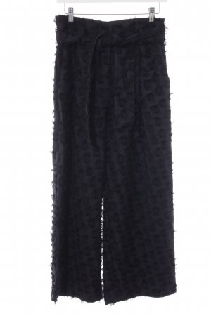 H&M Culottes dunkelblau extravaganter Stil