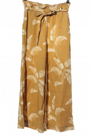 H&M Culottes hellorange-wollweiß Allover-Druck Casual-Look