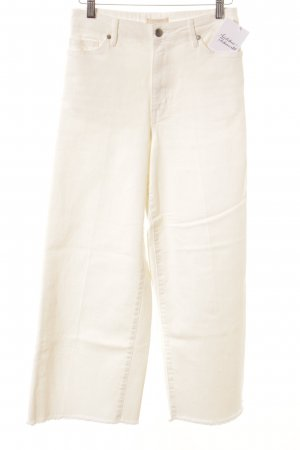 H&M Culottes weiß Jeans-Optik