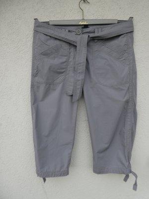 H&M - Damen 3/4-Hose, hellgrau - Gebraucht, fast wie neu