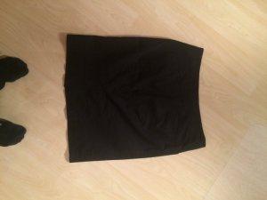 H&M Damen Bleistiftrock schwarz