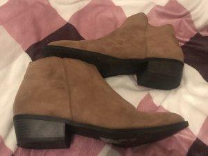 H&M Booties grey-beige