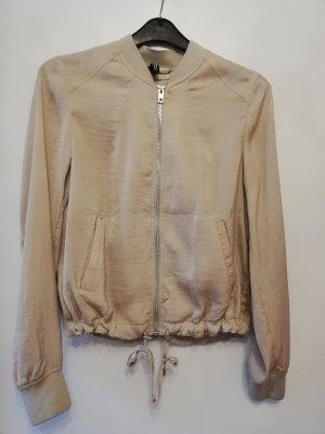 College Jacket cream polyester