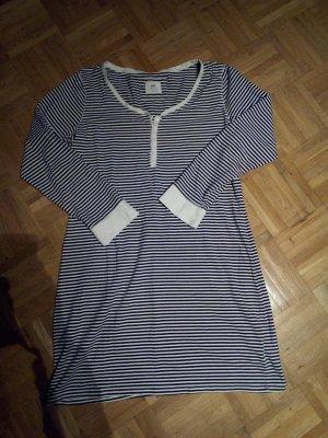 H&M Damen Nachthemd Sleepshirt langarm