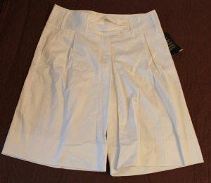 H&M Damen Shorts Neu Farbe Weiß Gr. 40/XL Baumwolle